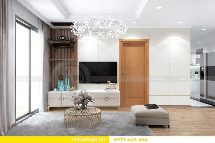 Thiết kế nội thất chung cư gardenia tòa A3 căn 01 đẹp 03