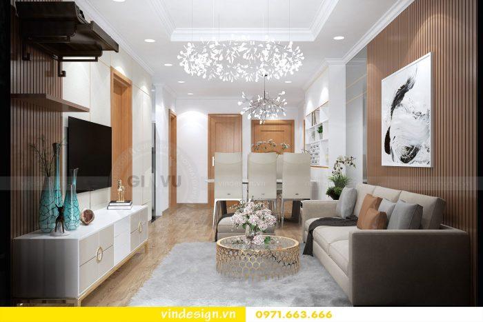 Thiết kế nội thất chung cư gardenia tòa A3 căn 01 đẹp 04