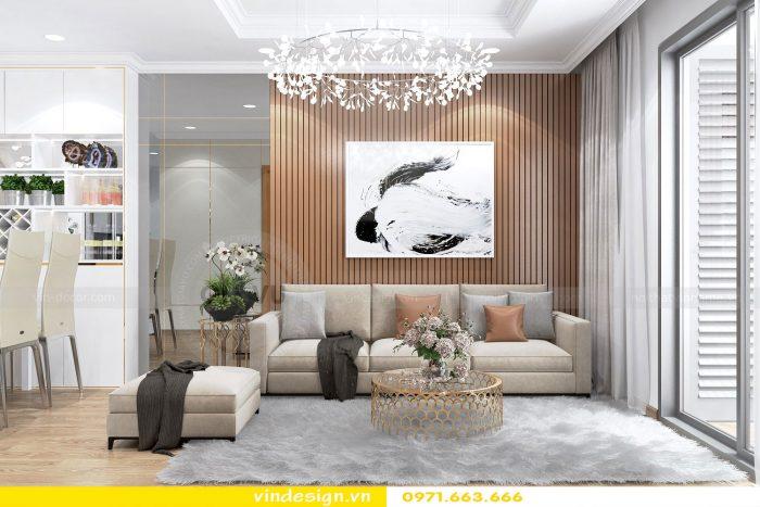 Thiết kế nội thất chung cư gardenia tòa A3 căn 01 đẹp 05
