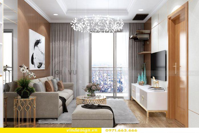 Thiết kế nội thất chung cư gardenia tòa A3 căn 01 đẹp 06