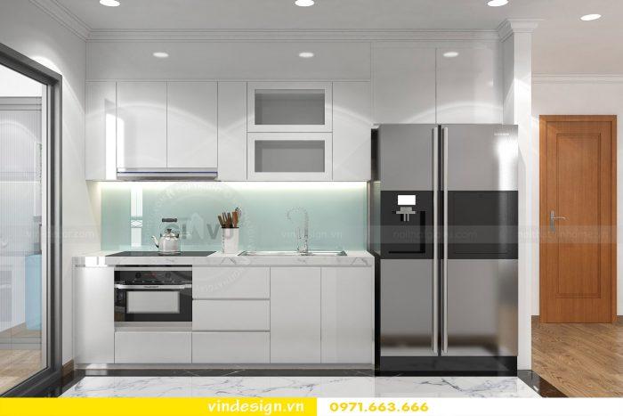 Thiết kế nội thất chung cư gardenia tòa A3 căn 01 đẹp 07