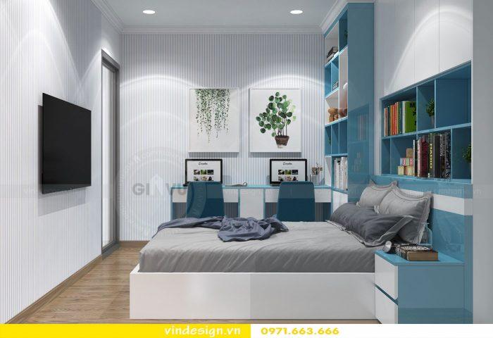 Thiết kế nội thất chung cư gardenia tòa A3 căn 01 đẹp 10