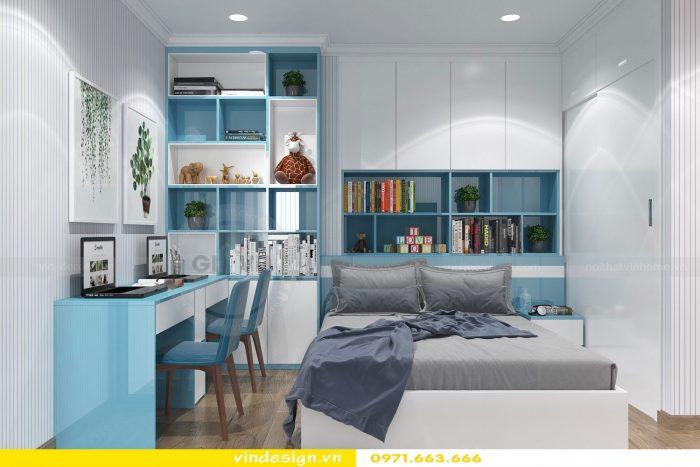 Thiết kế nội thất chung cư gardenia tòa A3 căn 01 đẹp 11