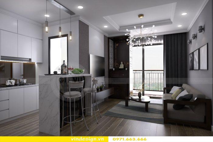 Thiết kế nội thất chung cư gardenia tòa A3 căn 04 số 1