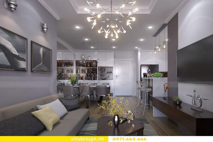 Thiết kế nội thất chung cư gardenia tòa A3 căn 04 số 2