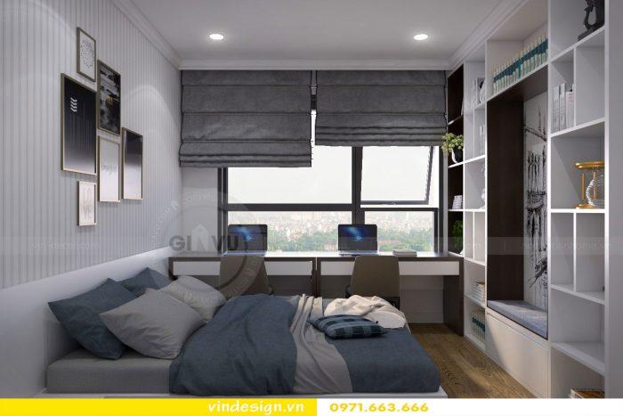 Thiết kế nội thất chung cư gardenia tòa A3 căn 04 số 8