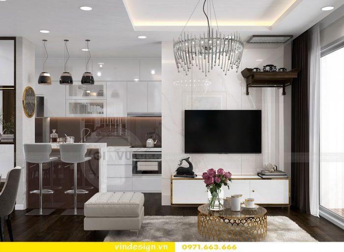 Thiết kế nội thất chung cư Gardenia tòa A3 căn 07 số 1