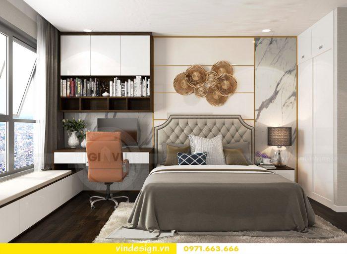 Thiết kế nội thất chung cư Gardenia tòa A3 căn 07 số 11