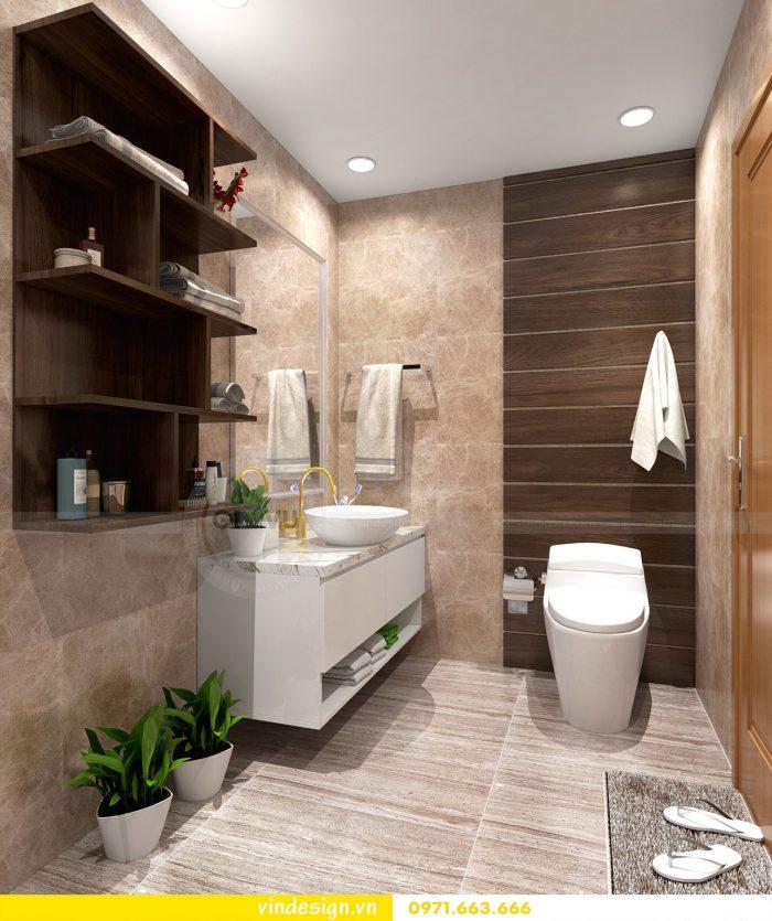 Thiết kế nội thất chung cư Gardenia tòa A3 căn 07 số 15