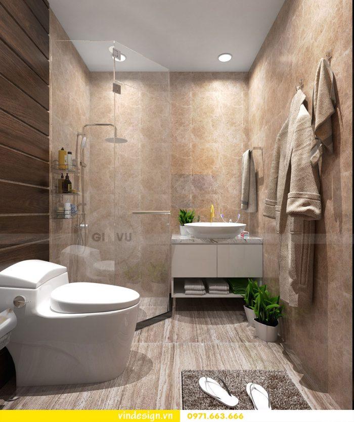 Thiết kế nội thất chung cư Gardenia tòa A3 căn 07 số 17