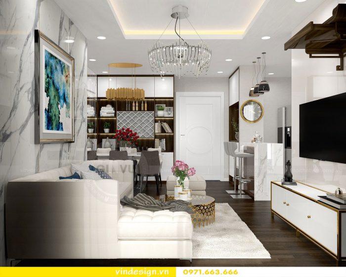 Thiết kế nội thất chung cư Gardenia tòa A3 căn 07 số 4