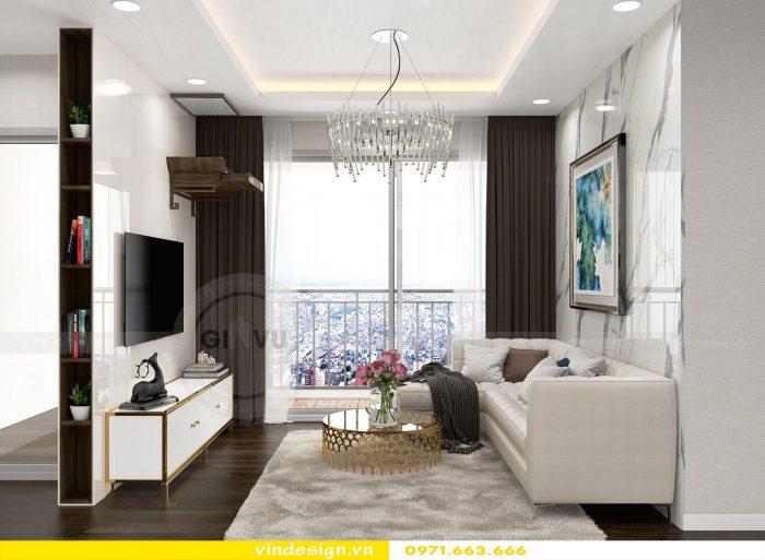 Thiết kế nội thất chung cư Gardenia tòa A3 căn 07 số 5