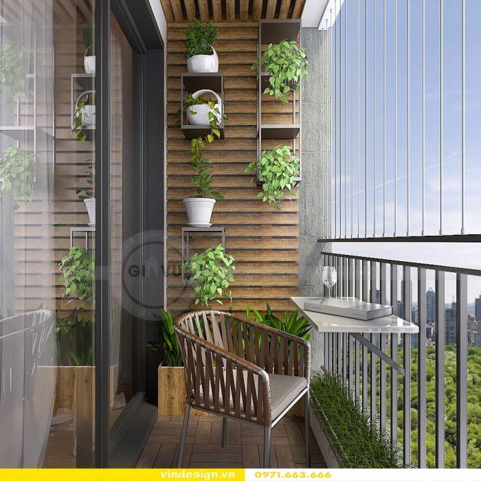 Thiết kế nội thất chung cư Gardenia tòa A3 căn 07 số 8