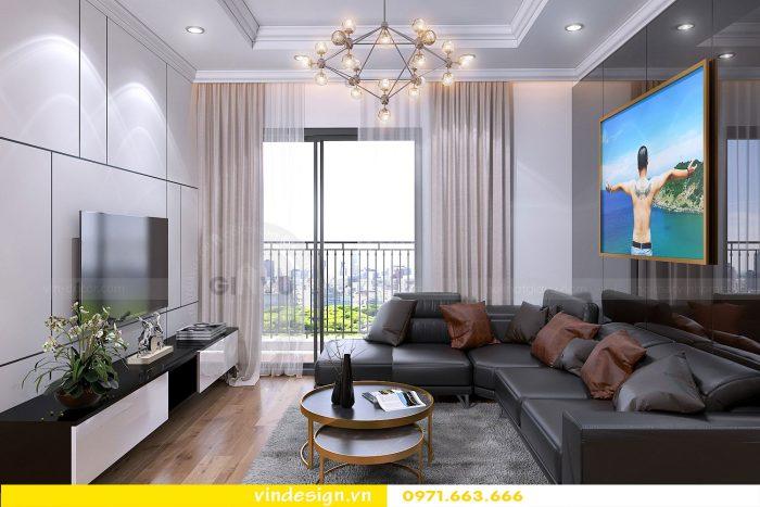 Thiết kế nội thất chung cư gardenia tòa A1 căn 19 số 2