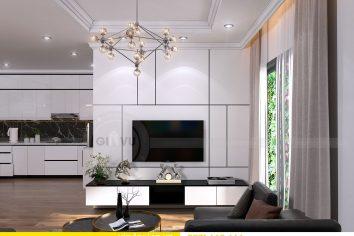 Thiết kế nội thất chung cư tòa A1 căn 19 số 3
