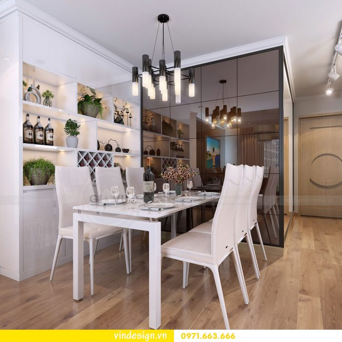 Thiết kế nội thất chung cư gardenia tòa A1 căn 19 số 5