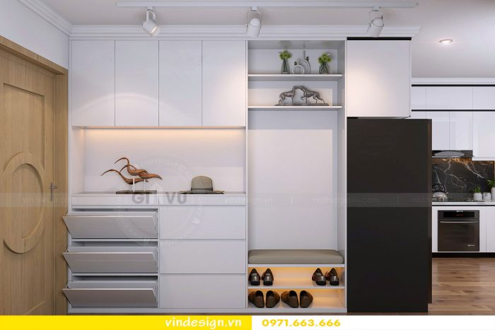 Thiết kế nội thất chung cư gardenia tòa A1 căn 19 số 9