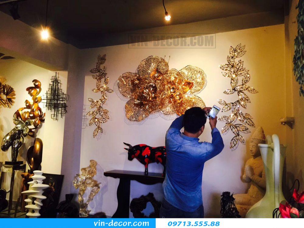 tranh sắt nghệ thuật xu hướng trang trí nội thất mới lạ 37