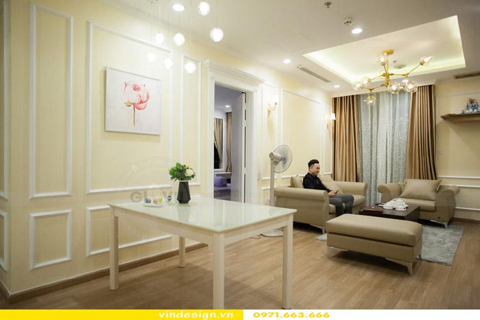 Thi công thực tế chung cư Park Hill 11 căn 05 nhà anh Tuấn 2