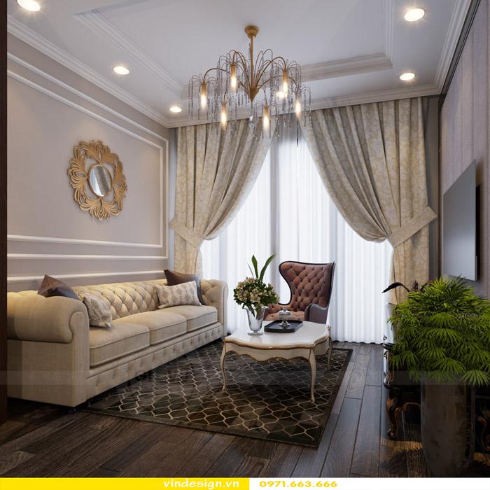 Thiết kế nội thất Gardenia theo phong cách tân cổ điển 1