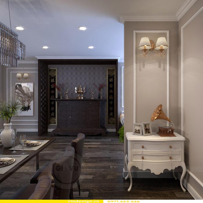 Thiết kế nội thất Gardenia theo phong cách tân cổ điển 5