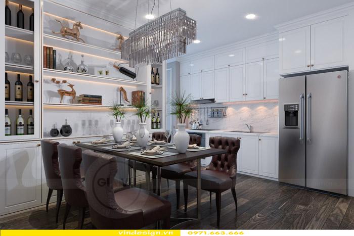 Thiết kế nội thất Gardenia theo phong cách tân cổ điển 6