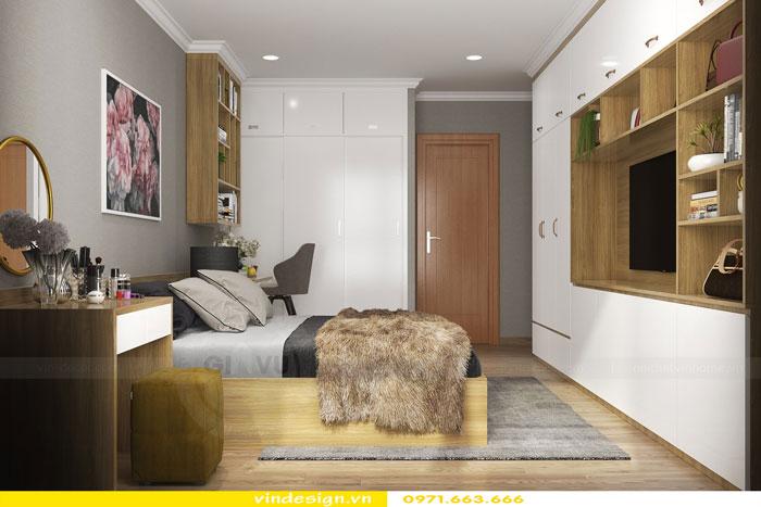 Thiết kế nội thất Vinhomes Gardenia tòa A3 căn 12 view 12