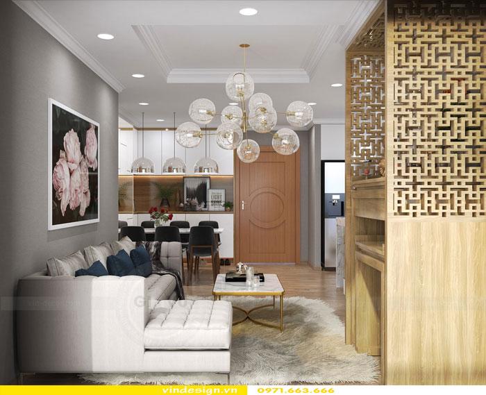 Thiết kế nội thất Vinhomes Gardenia tòa A3 căn 12 view 2
