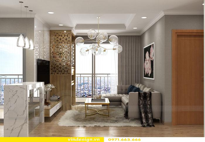 Thiết kế nội thất Vinhomes Gardenia tòa A3 căn 12 view 3
