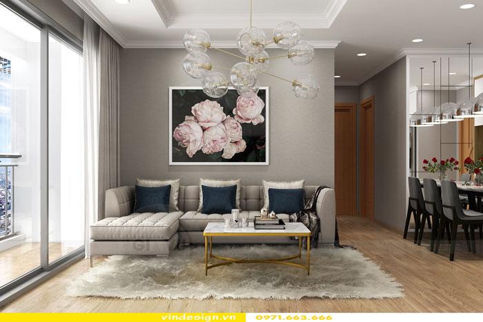 Thiết kế nội thất Vinhomes Gardenia tòa A3 căn 12 view 4