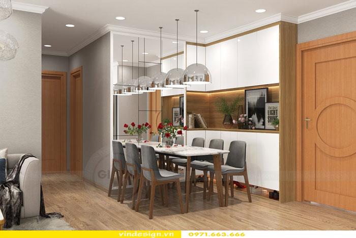 Thiết kế nội thất Vinhomes Gardenia tòa A3 căn 12 view 6