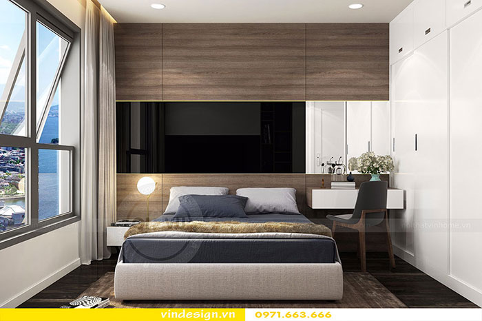 Thiết kế nội thất chung cư D'Capitale tòa C3 căn 06 view 10