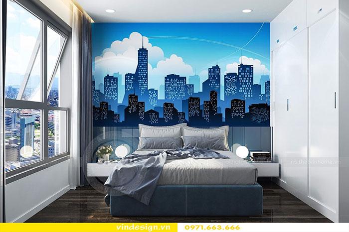 Thiết kế nội thất chung cư D'Capitale tòa C3 căn 06 view 13