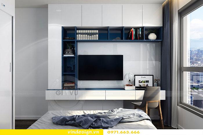 Thiết kế nội thất chung cư D'Capitale tòa C3 căn 06 view 14