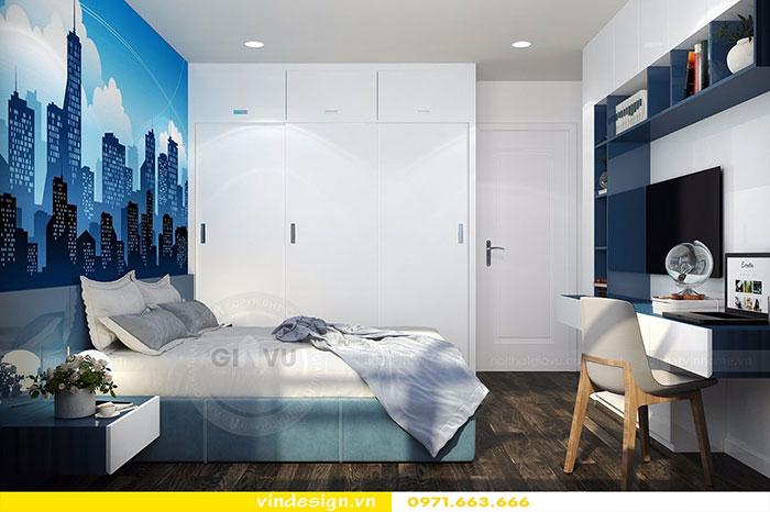 Thiết kế nội thất chung cư D'Capitale tòa C3 căn 06 view 15