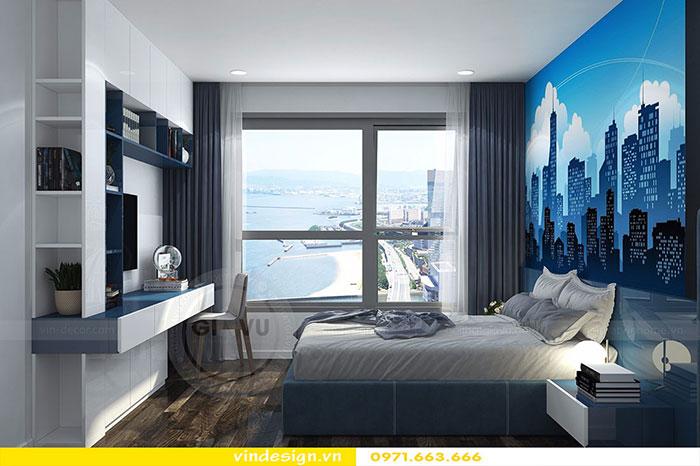 Thiết kế nội thất chung cư D'Capitale tòa C3 căn 06 view 16