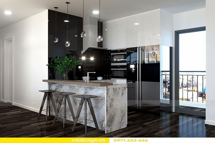 Thiết kế nội thất chung cư D'Capitale tòa C3 căn 06 view 2