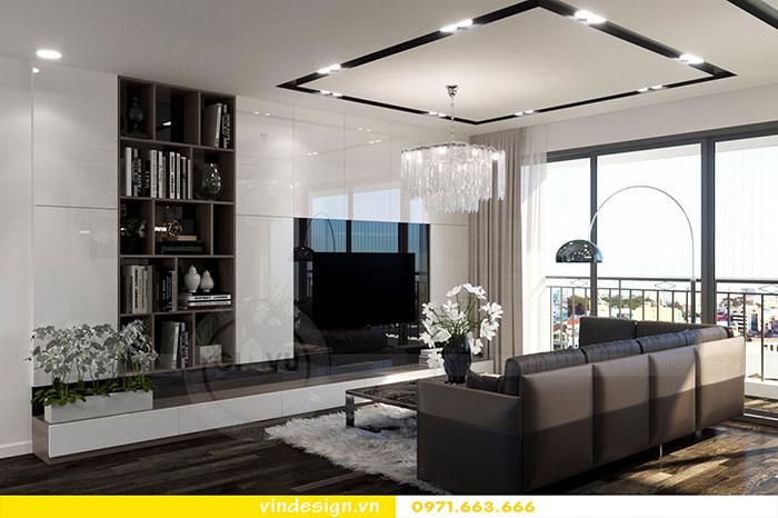 Thiết kế nội thất chung cư D'Capitale tòa C3 căn 06 view 3