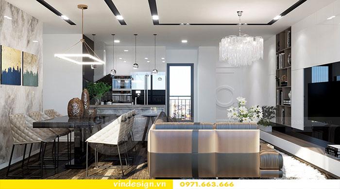 Thiết kế nội thất chung cư D'Capitale tòa C3 căn 06 view 6