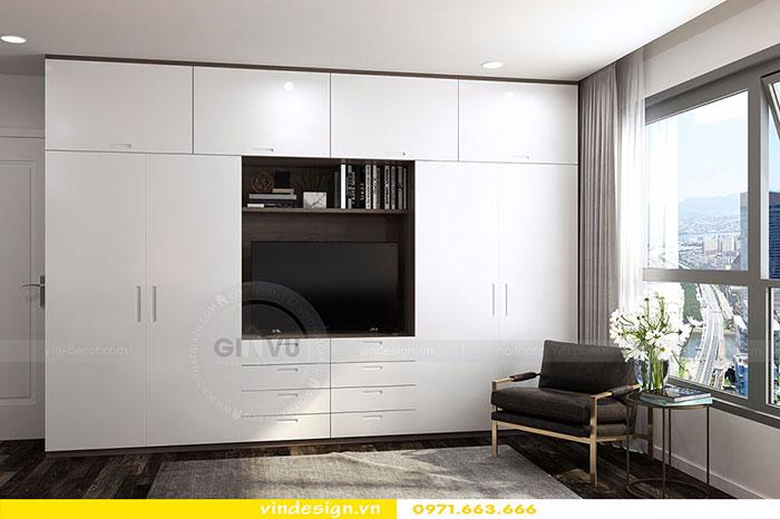 Thiết kế nội thất chung cư D'Capitale tòa C3 căn 06 view 8