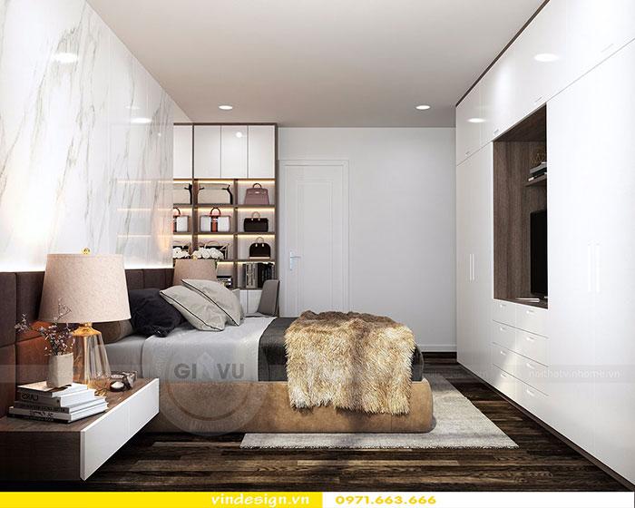 Thiết kế nội thất chung cư D'Capitale tòa C3 căn 06 view 9