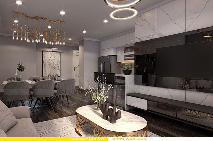 Thiết kế nội thất Gardenia căn 3 phòng ngủ 4