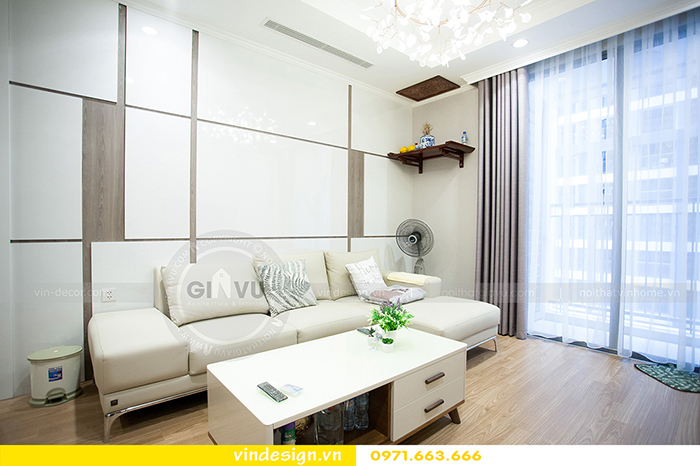 Hoàn thiện nội thất Vinhomes Gardenia tòa A3 nhà cô Thắm 5