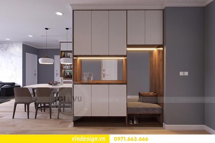 Thiết kế nội thất chung cư Vinhomes D'Capitale tòa C1 1