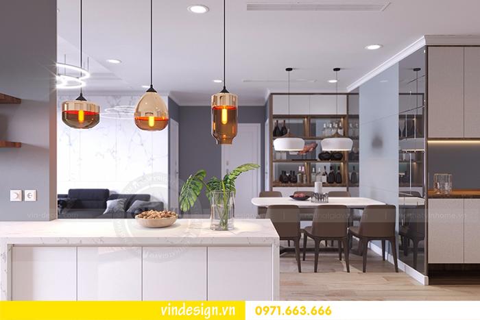 Thiết kế nội thất chung cư Vinhomes D'Capitale tòa C1 3