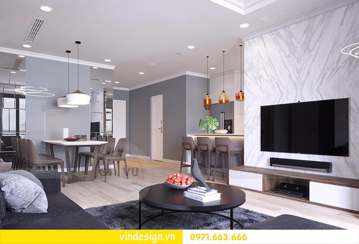 Thiết kế nội thất chung cư Vinhomes D'Capitale tòa C1 6