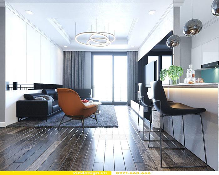 Thiết kế nội thất Gardenia căn 2 phòng ngủ nhà chị Loan 2