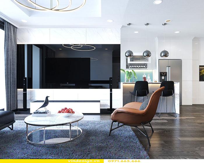 Thiết kế nội thất Gardenia căn 2 phòng ngủ nhà chị Loan 3