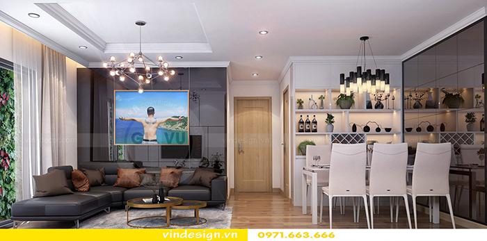 Thiết kế nội thất Vinhomes theo phong cách hiện đại 4