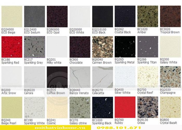 Tổng hợp các mẫu đá Vicostone mới nhất 2018 view 1